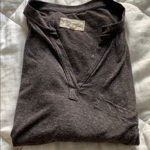 Current/Elliot soft Henley style shirt